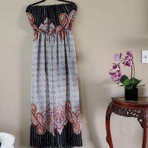 3/20 Sale Windsor Strapless Paisley Jumpsuit Size
